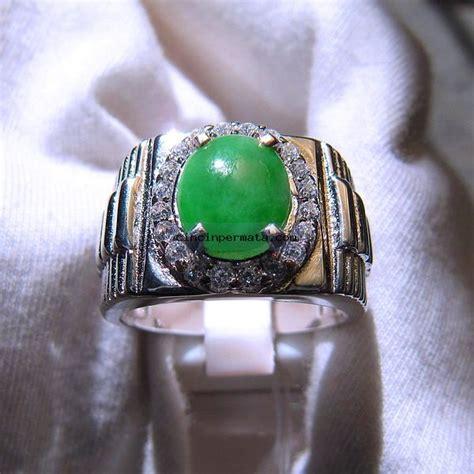Jadeite Giok Burma batu mulia giok jadeite grade a cincinpermata jual
