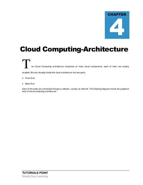 tutorialspoint distributed systems cloud computing tutorialspoint