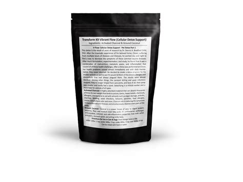 1 Lb Activated Charcoal For Detox by Activated Charcoal For Dogs Transform K9 Vibrant Flow