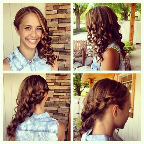 graduation hairstyles for middle school gorgeous 8th grade graduation hair hair pinterest