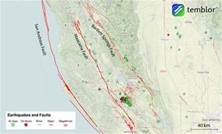 springs northern california map the san andreas faults in northern california temblor net