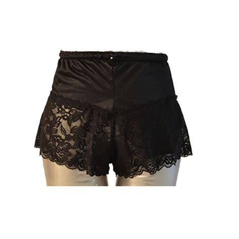 Lace Boy Shorts s lace boy shorts black c s ostomy pouch