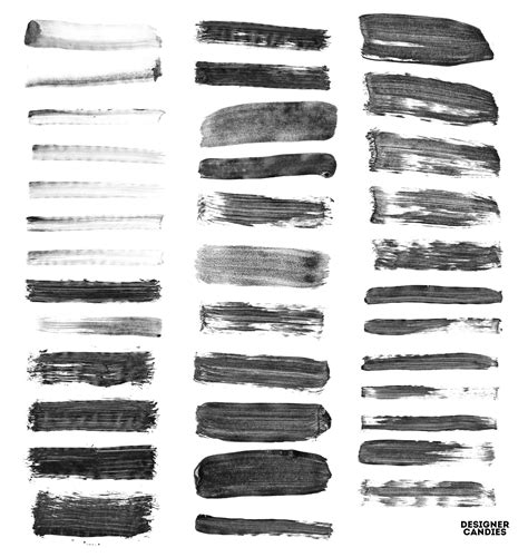 brushes for photoshop 163 paint stroke brushes for adobe photoshop