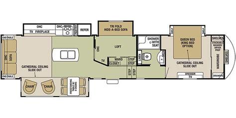 cedar creek rv floor plans 37mbh
