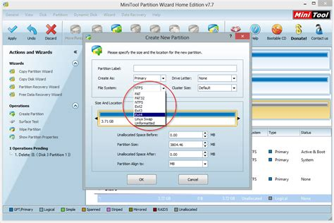 format hard drive ext4 how to create an ext4 partition on windows en code bude net