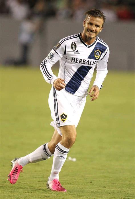 David Beckham Injures Knee In Soccer Match by 2013 Mls Kits Kitnerd
