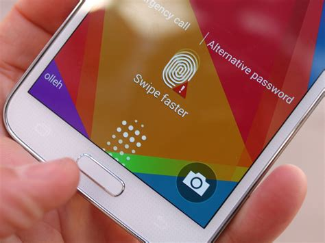 Samsung Fingerprint Samsung S Galaxy S6 Rumored To Adopt Touch Based