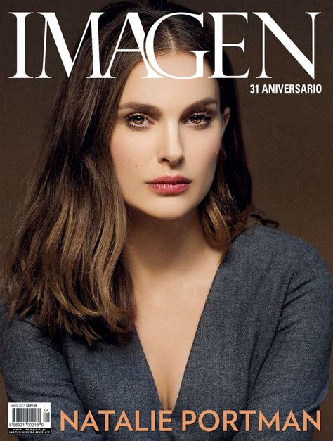 Natalie Portman April Issue Of Magazine by Natalie Portman Imagen Magazine April 2017 Issue