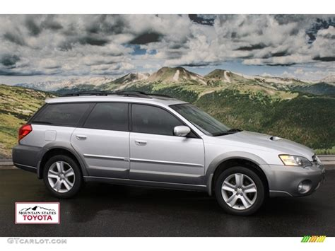 subaru metallic 2005 brilliant silver metallic subaru outback 2 5xt