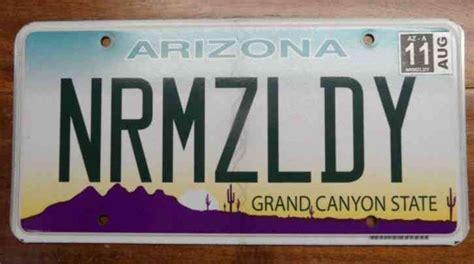 Arizona Vanity Plate by Mint Condition Arizona Scenic Personalized License Plate