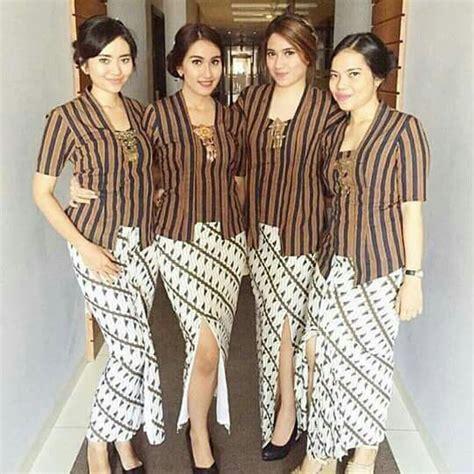Baju Bali Jumpsuit Panjang Rtr Batik 503 best images about traditional kebaya batik tenun on fashion