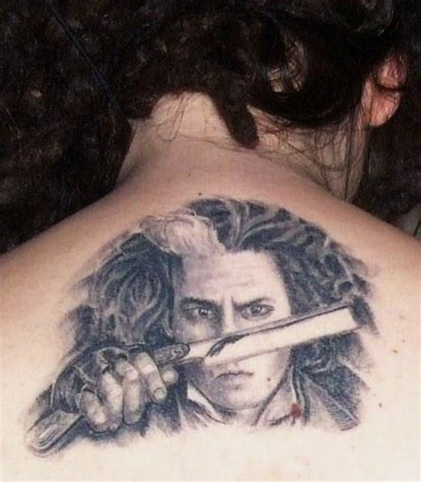 sweeney todd tattoo sweeney todd by angeliika on deviantart