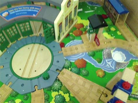 friends wooden railway tidmouth sheds deluxe