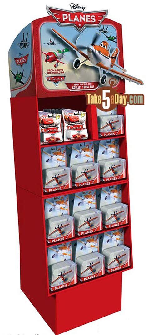 pop display mattel disney pixar cars planes diecast floor display