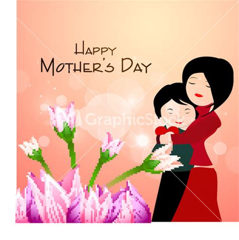 mother day greeting card design happy fathers day greeting card or background stock image