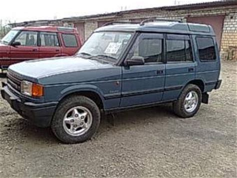 old car repair manuals 1997 land rover discovery seat position control 1997 land rover discovery pictures 2 5l diesel manual for sale