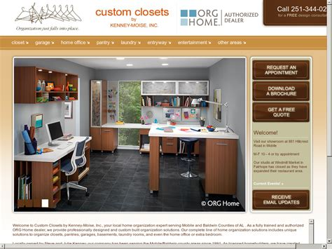 Custom Closets Mobile Al by Custom Closets By Kenney Moise Company Profile Owler