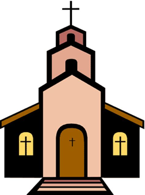 Wedding Chapel Clipart by Small Chapel Clipart