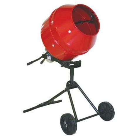 proforce 1 2 hp portable cement mixer 105890dpt the home