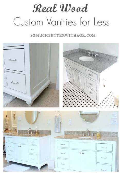 bathroom vanities for less real wood custom vanities for less custom vanity real