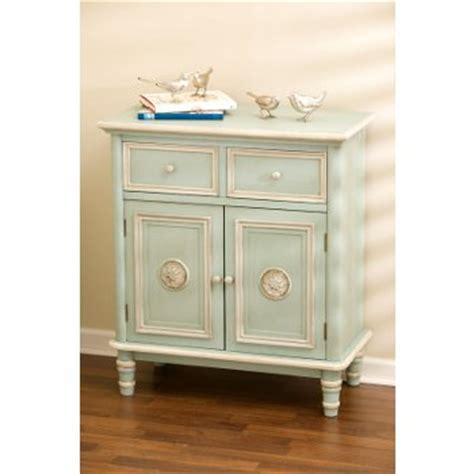 Antique Blue 2 Door Cabinet