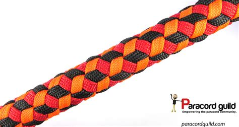 paracord weaves triaxial weave aka qbert weave paracord guild