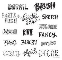 best 25 lettering styles ideas on