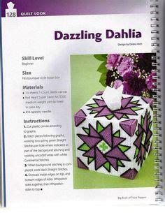 Big Tissue Organizer Kanvas I easy to stitch tissue boxes pattern choose from 2