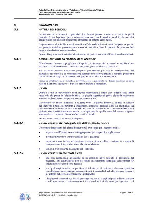 regolamento aziendale interno regolamento aziendale sulla quot gestione sicura dell