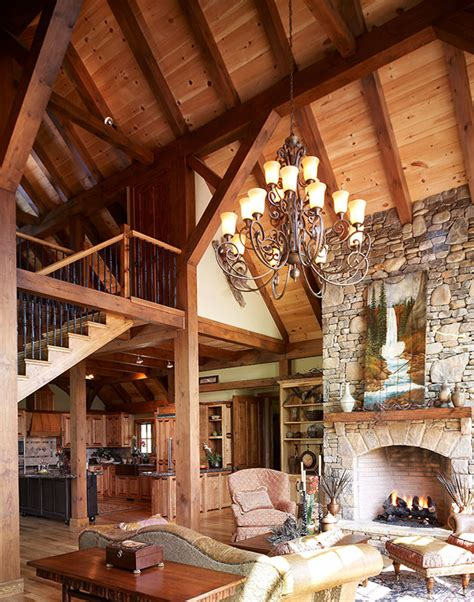mill creek designed timber frame great rooms - Timber Frame Great Rooms