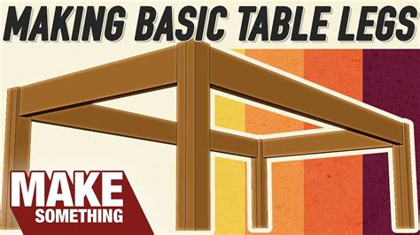 4 Ways To Table Legs Which Joinery Method Is Best
