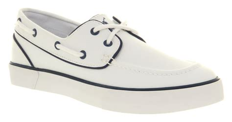 white polo boat shoes white ralph lauren boat shoes polo ralph lauren long