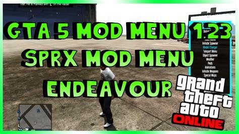 mod gta 5 endeavour gta 5 online endeavour sprx mod menu mod menu showcase