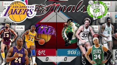 best team ever lakers vs bulls vs celtics vs lakers all time lakers team vs all time celtics team best of 7