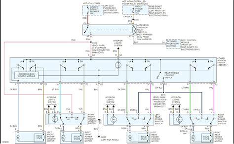 peterbilt power window wiring diagram