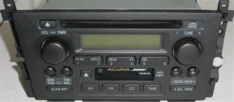 2002 acura tl radio code acura tl factory radio cd player original 39101 s0k a110 m1