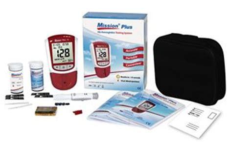 Mission Hb Testing System acon mission plus hemoglobin testing system acon c112 3051