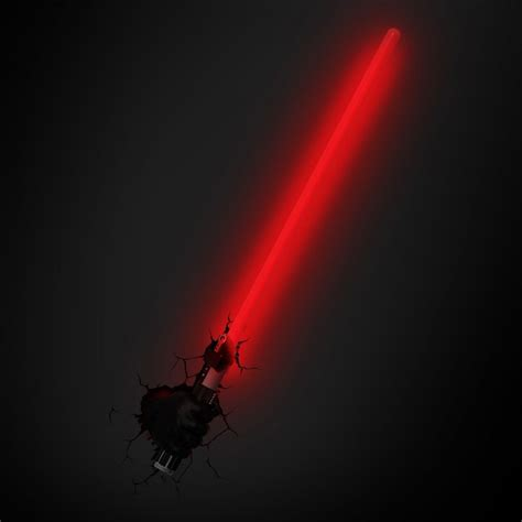 Wars Light by Darth Vader Lightsaber L Led Wall Light Wars 3d