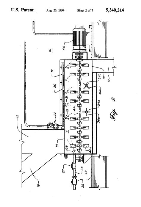 pug mill design patent us5340214 pug mill mixer patents