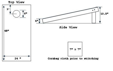 bean bag toss dimensions simple read un exciting tutorial but informative