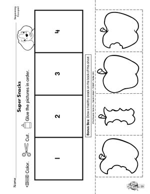 preschool sequencing activities printable results for language arts preschool worksheet guest