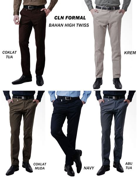 Celana Cowo Regulerfit Size 27 38 Quality buy celana kerja pria formal panjang color deals for only rp95 000 instead of rp175 000