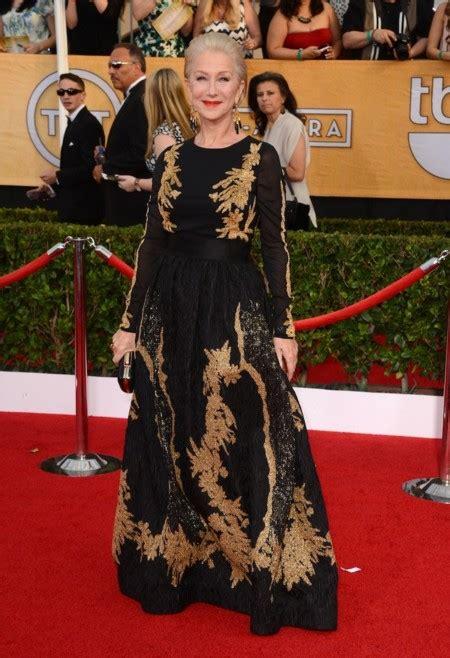 Helen Mirren Has At Sag Awards by Sag Awards 2014 La Alfombra Roja Con Todos Los Looks