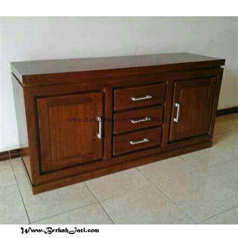 Buffet Nakas Bufet Meja Tv Retro Laci Kayu Jati Furniture Jepara 3 bufet tv minimalis laci kayu jati berkah jati furniture berkah jati furniture
