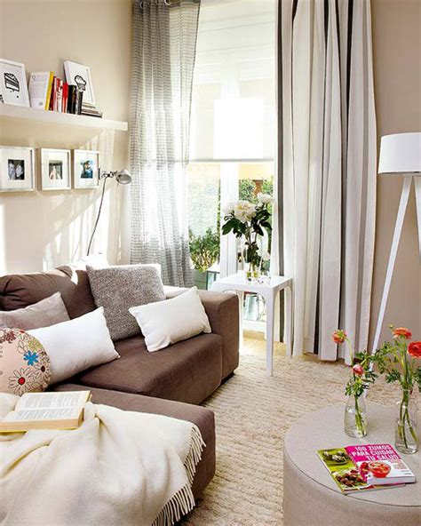 Interior For Small Flats by Beautiful Beige Interior Of A Small Flat In Spain 12