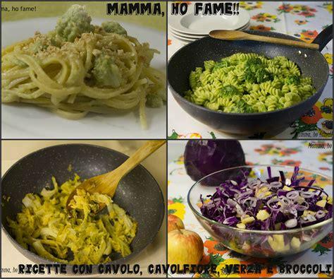 cavoli ricette cucina ricette con cavolo cavolfiore verza e broccoli mamma