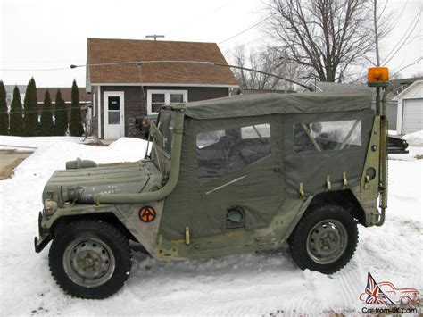 m151 jeep 1977 m151 a2 military jeep uncut clear title plus many
