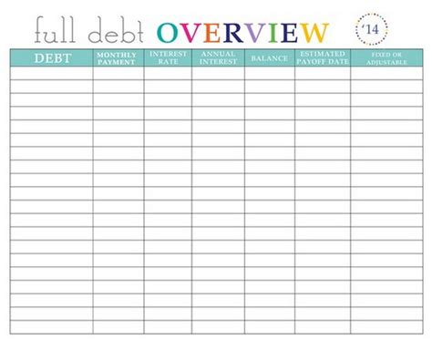 credit card payoff spreadsheet template wolfskinmall