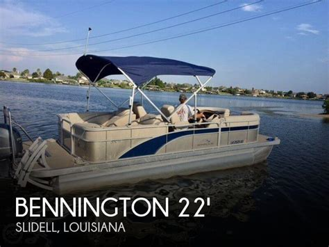 bennington pontoon boats for sale near me sold bennington 22 scwx spc boat in slidell la 118857