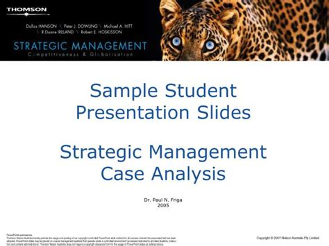 Strategic Management Ppt Slides Mba Students by Grammar Essays Writing The Friary School